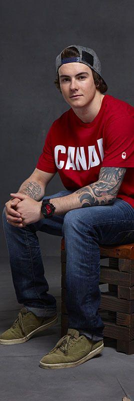 Team Canada - Snowboarder Sébastien Toutant. My main man :)