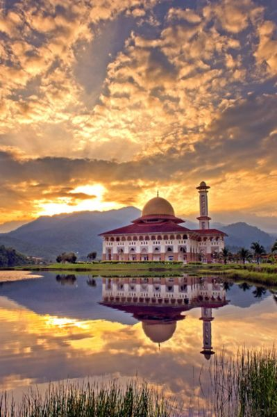 Darul Quran Mosque, Kuala Kubu Bharu, Hulu Selangor, Malaysia