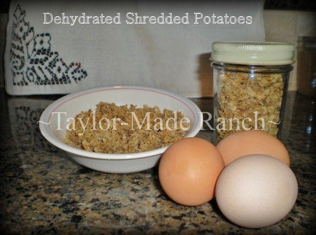 Using Food Dehydrator To Make Hash Browns