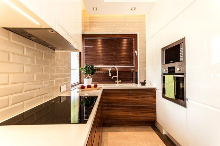 Nowoczesna  kuchnia - Segment w Kwirynowie TISSU Architecture