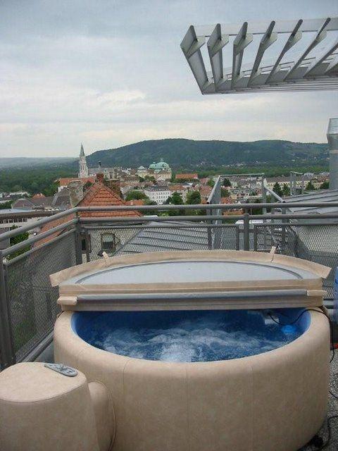 170 besten softub favorites bilder auf pinterest whirlpools verandas und whirlpool garten - Whirlpool dachterrasse ...