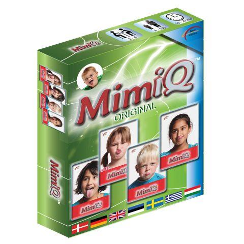 Zábavná kartová hra, v ktorej sa komunikuje prostredníctvom mimiky. Výrazy tváre a grimasy, ktoré musia hráči napodobniť, prinášajú skvelú zábavu. V tejto hre je povolené dokonca aj vyplazovať jazyk na protihráča!