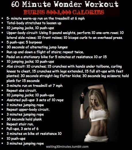 17 Best Images About 60min Plus Workouts On Pinterest