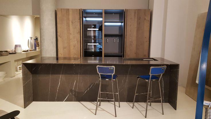 OPERART suggestive design - Show-room 2017 - Realizzazione cucina in pietra