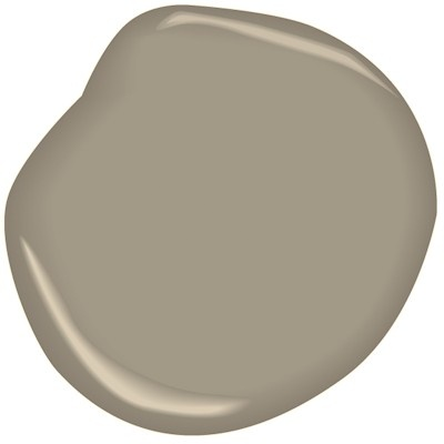 Benjamin Moore Williamsburg Collection Cole Stone CW-60-white, outside stucco paint color.