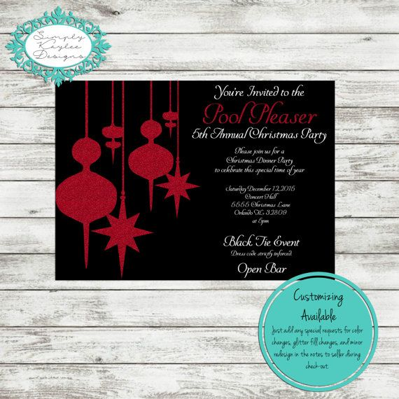 13 best Christmas Invite images on Pinterest Christmas parties
