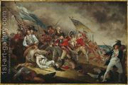 The Death of General Warren at the Battle of Bunker Hill on ...  by John Trumbull