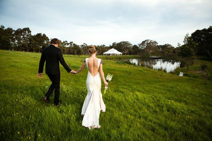 The walk to your dream reception. Grand 11mx11m. www.tentluxuryhire.com.au