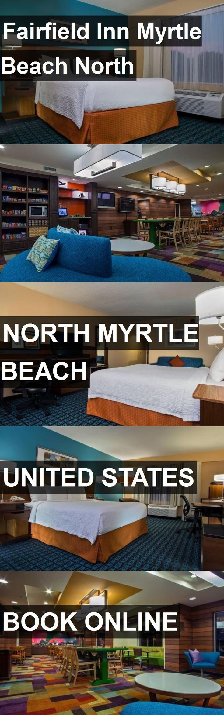 Hotel Fairfield Inn Myrtle Beach North in North Myrtle Beach, United States. For more information, photos, reviews and best prices please follow the link. #UnitedStates #NorthMyrtleBeach #travel #vacation #hotel