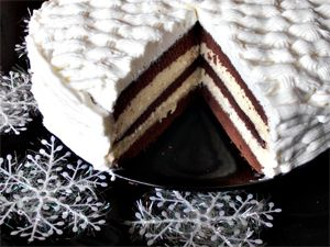5 retete de tort pentru masa de Revelion, Tort Vis de Iarna