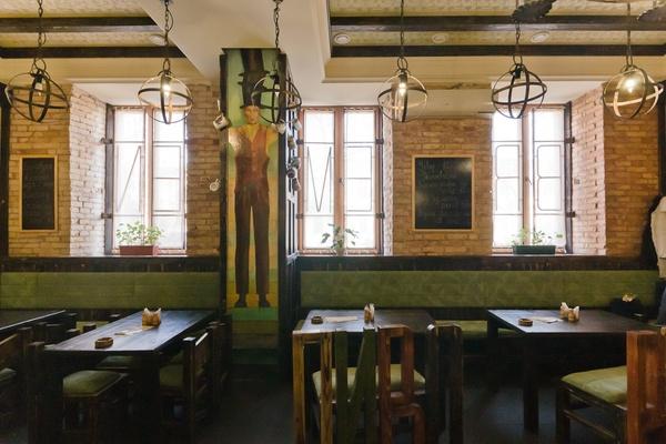 """Beer cafe """"Bremen"""" by Loginov Oleksandr, via Behance"""