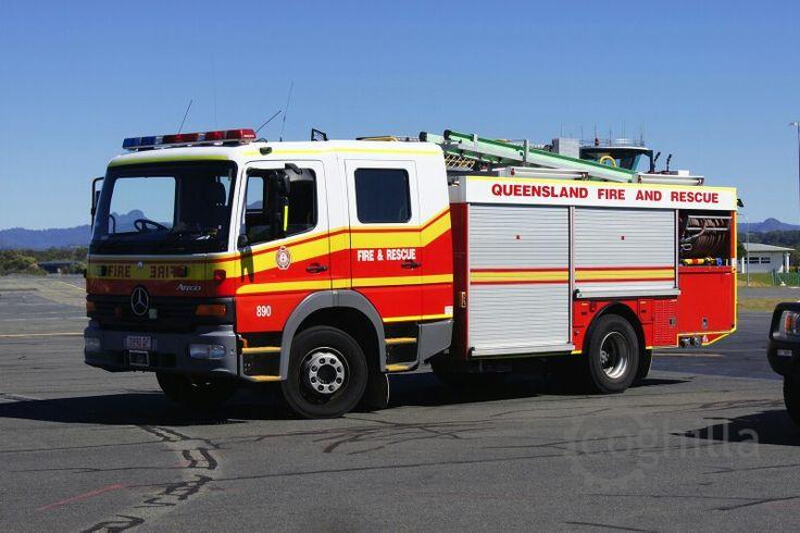 Qld. Fire - Rescue - Pumper 890