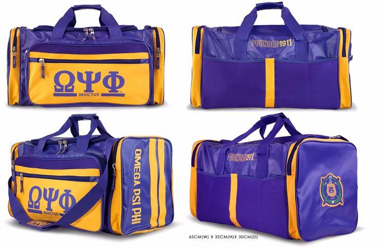 Omega Psi Phi Duffle Bag