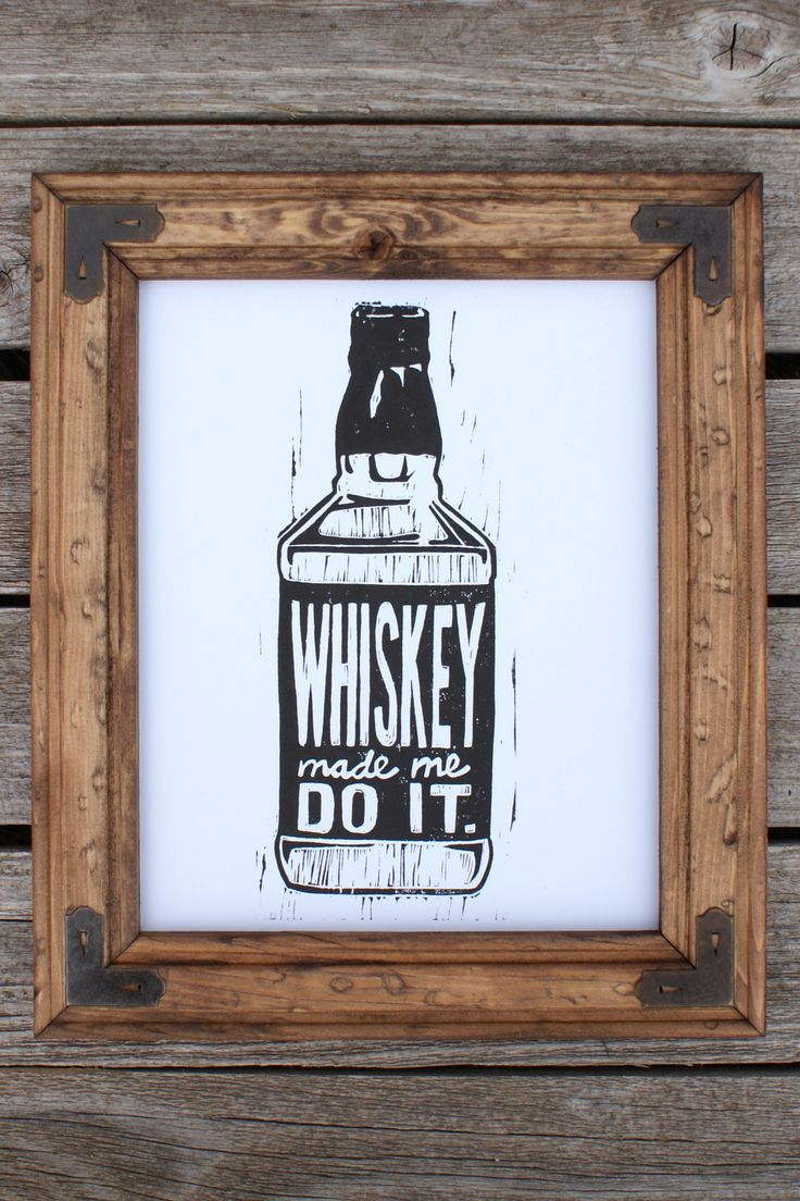 Whiskey made me do it print best purchase like ever