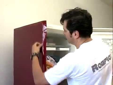 Envelopamento de Geladeira Freezer Maquina de Lavar com Adesivo