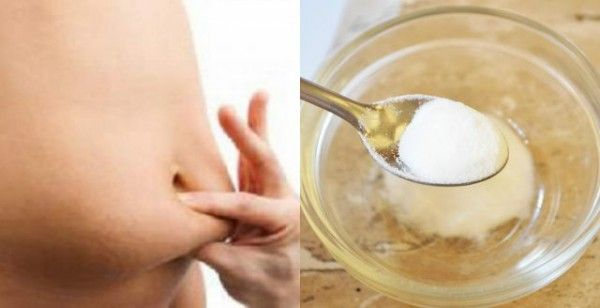 Get Rid Of Belly, Thigh, Arm And Back Fat With Baking Soda – This Is The Right Way To Prepare It!