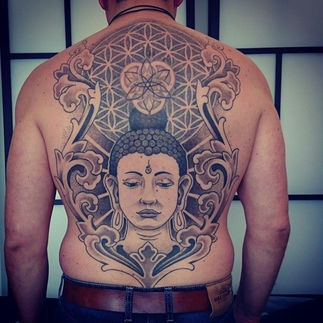 120 Mystical Buddha Tattoo Designs And Meanings cool