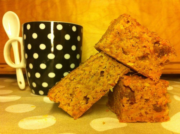 Las recetas de la familia Tartufo: Bizcocho integral de zanahoria con stevia