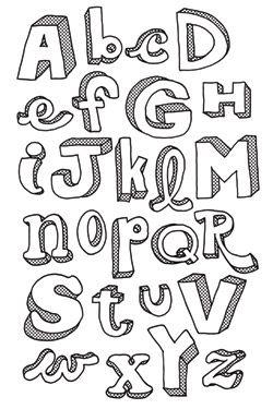 Handlettering Buchstaben und Ideen #Handlettering Alphabet
