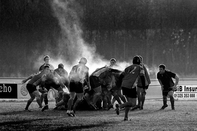 rugby in the cold by Doug Jackson Photography, via Flickr