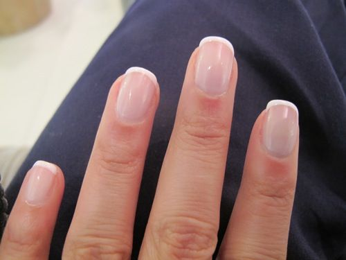 Shellac nails! I am making the change from the heavy, ugly gel solar nails to shellac nails. So much more natural looking!