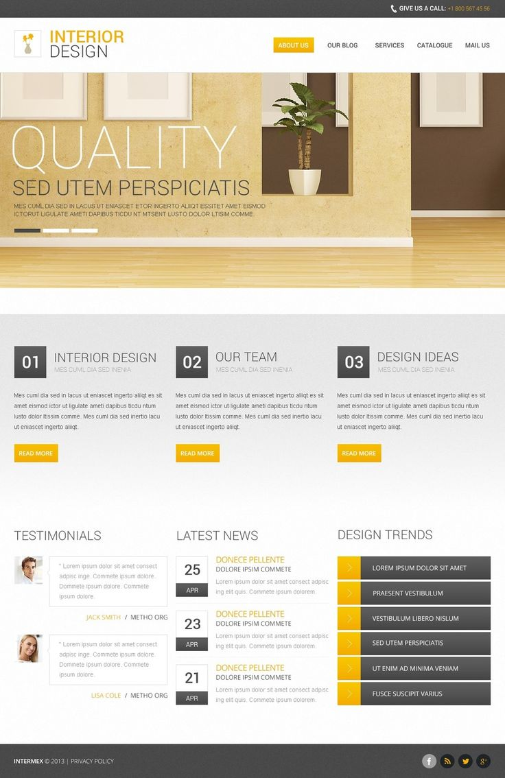Free Responsive Drupal 7.x Template V.2 Drupal Template New Screenshots BIG