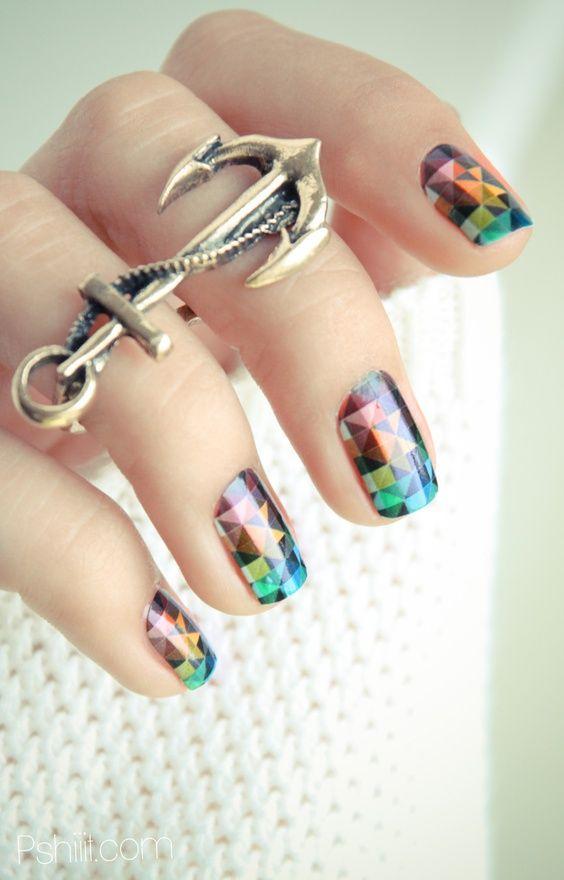 pixel nails