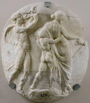 """""""Dioniso y su séquito"""", taller neoático, Ca. 50 a.C., Mármol"""