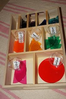 """Making Montessori Ours"": Montessori Fractions!!"