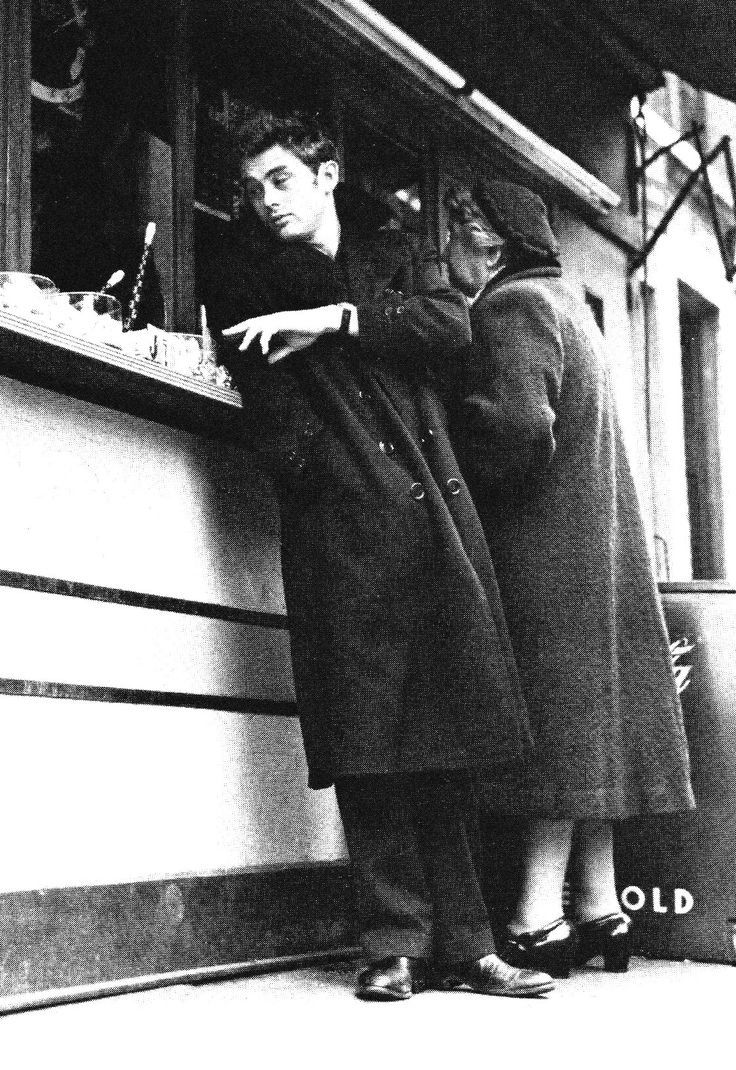 James Dean fotografiado por Roy Schatt, 1954