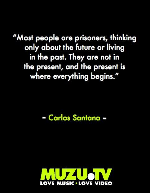 Mr. Carlos Santana weaves some of his inspirational black magic #music #quotes #inspiration #philosophy Click to watch Santana music videos here http://www.muzu.tv/santana/