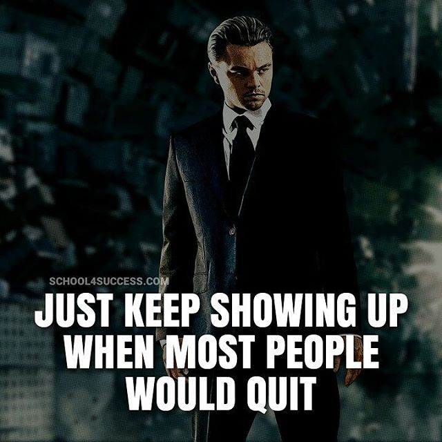 Via my buddy @secretentourage - Those who give up in frustration and struggle, fail to understand this is the way success works. But not you! You just keep showing up and out working them, because you know that's what takes to win!  #school4success