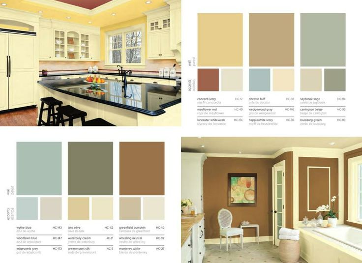 Benjamin moore historic collection kitchen pinterest Benjamin moore historical collection