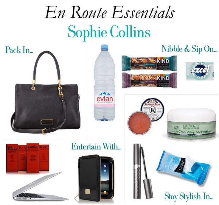 En Route Essentials - Sophie Collins. http://www.hithaonthego.com/en-route-with-sophie-collins/