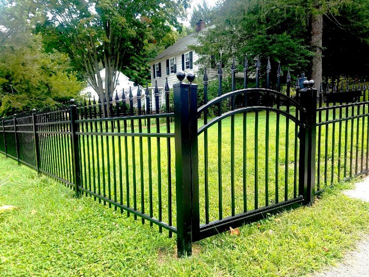 3 Rail Aluminum Fencing with Decorative Finials 338 best ALUMINUM FENCE images on Pinterest