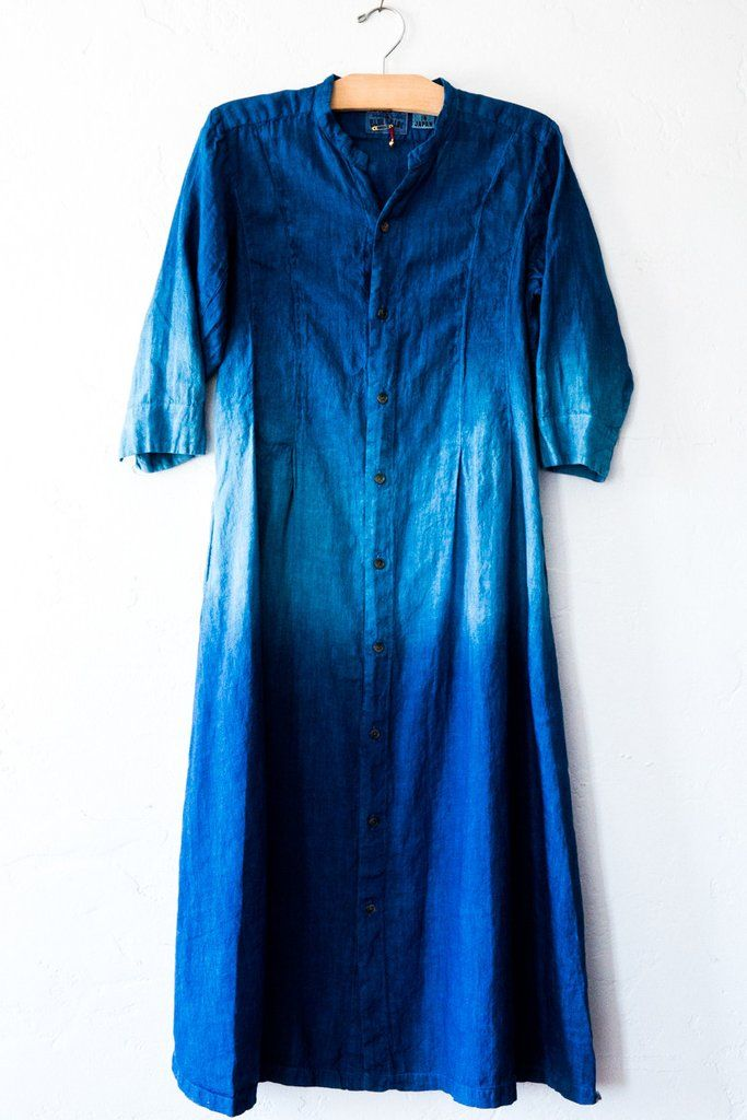 blue blue japan - shirt dress