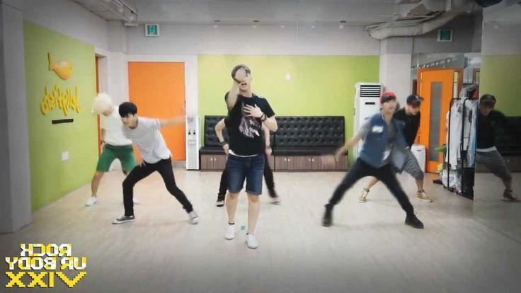 VIXX - Rock Ur Body mirrored Dance Practice