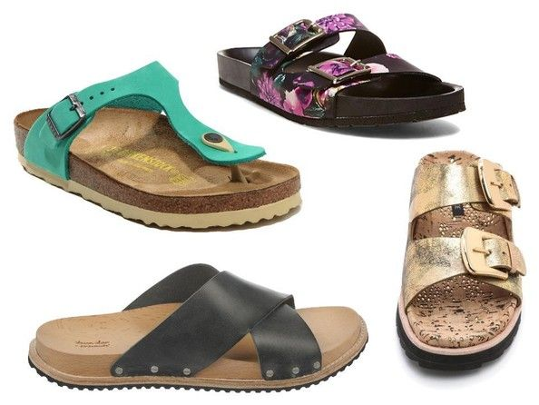 Trend To Try Birkenstock Inspired Sandals Birkenstock Steven