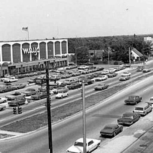 Looking Back: Levittown Shopping Center on Hempstead Turnpike...May's is now the Tri County Fleas Market