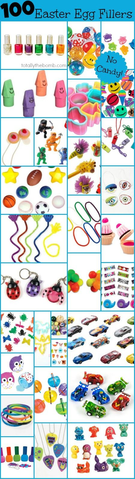 100 Things To Put In Easter Eggs {That Arent Candy!}