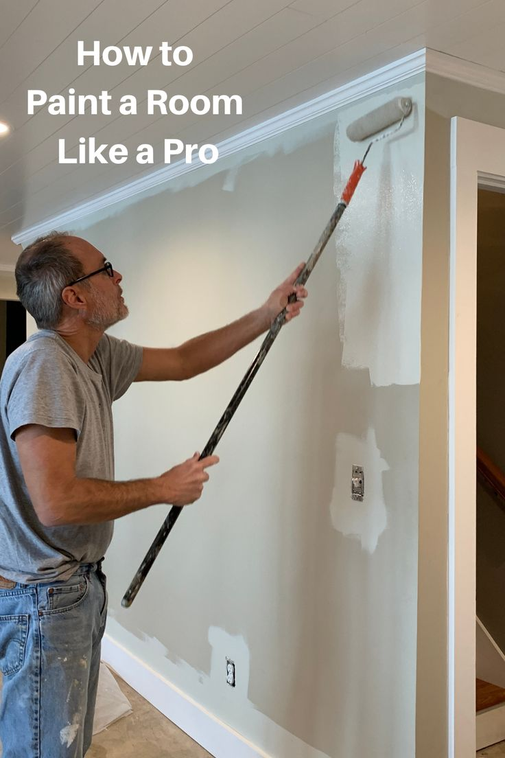 How to Paint a Room Like a Pro in a Few Easy Steps in 2020 ...