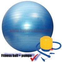 Fitness lopta gymnastická 65 cm + pumpa