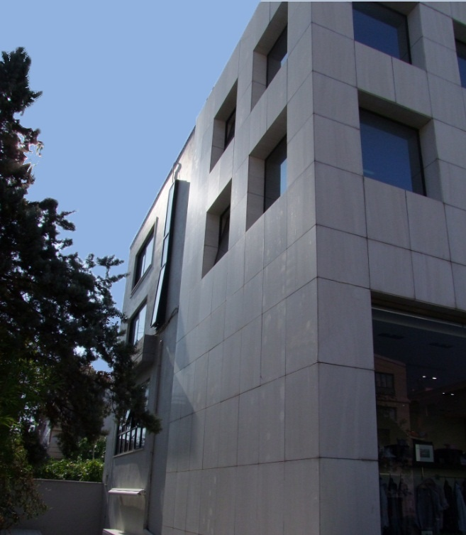 Projects Commercial Buildings | architects.com.gr by Greek architect Orfanos G.