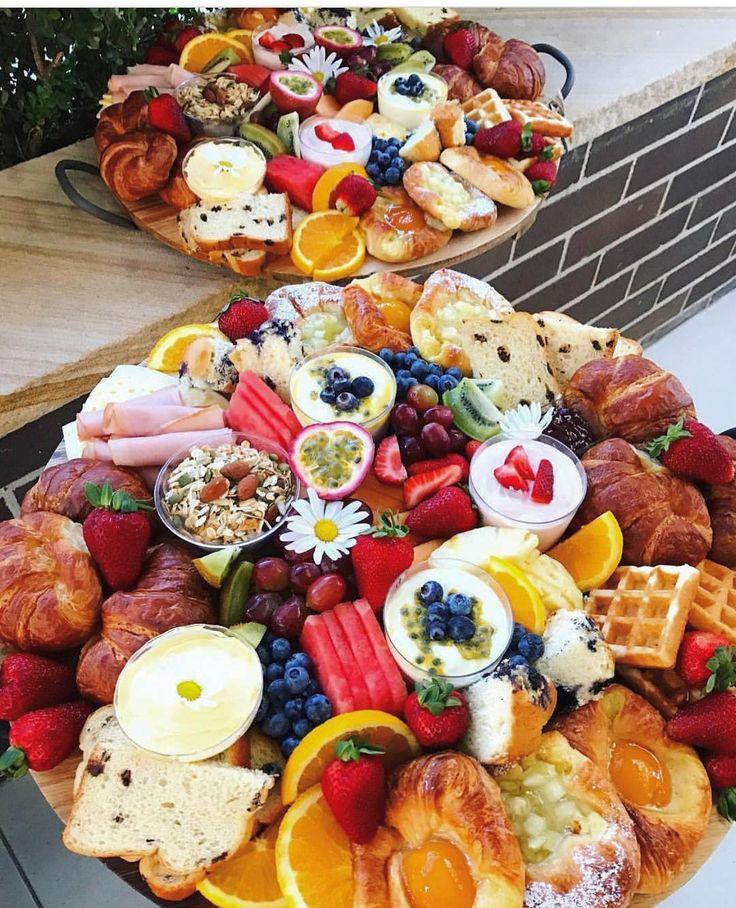 @nibbleandgraze's Breakfast Platters All Ready For
