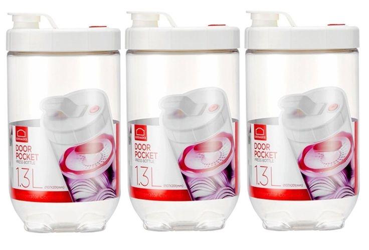 LOCK n LOCK Inteorak Clear Pickle Jar Ferment Storage Container Special Set 3pcs #LOCKnLOCK