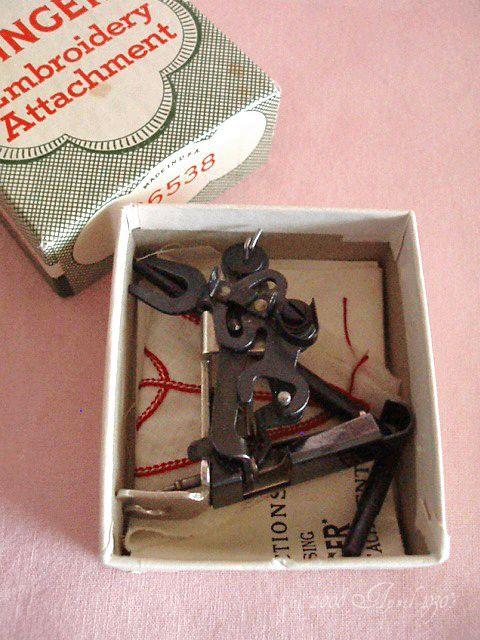 Singer Single Thread Embroidery Attachment 40 Vintage Singer Simple Embroidery Attachment For Sewing Machine
