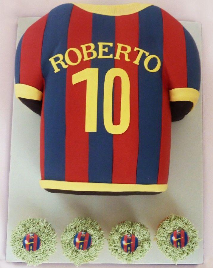 barcelona t shirt and cupcakes [Résolution de l'écran]