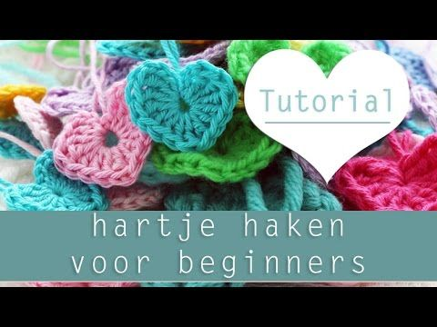 hartje haken tutorial Voor Absolute Beginners - YouTube