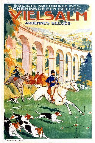 Lentrein - Vielsalm - 1925 vintage poster