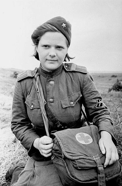 Red Army nurse.